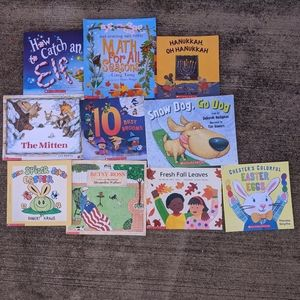 Holiday themed Scholastic Book Lot for Children